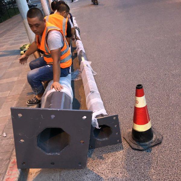 交通监控单杆