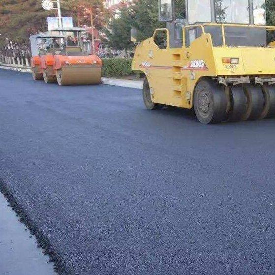 沥青路面摊铺施工